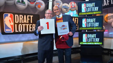 Cleveland Cavs bizarrely win the NBA draft lottery for 3rd time in 4 years
