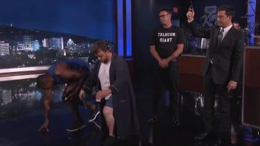 Jimmy Kimmel cleverly explains net neutrality using distinctly analog technology
