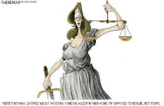 Editorial Cartoon U.S. Breonna Taylor decision justice