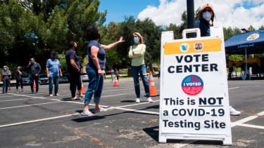 Voting in California's 25th congressional district