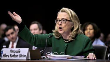 Hillary Clinton testifies in 2013.