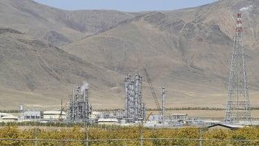 Arak heavy water production facility.