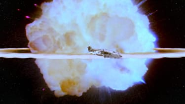 The second Death Star explosion.