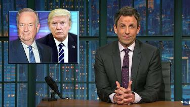 Seth Meyers ties up Trump and Fox News