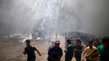 Violence near the border between Gaza and Israel.