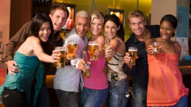 How to drink all night without getting drunk