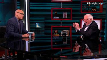 Bernie Sanders talks electoral math with Larry Wilmore