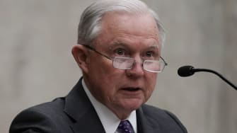 Jeff Sessions will not recuse himself from Michael Cohen investigation.