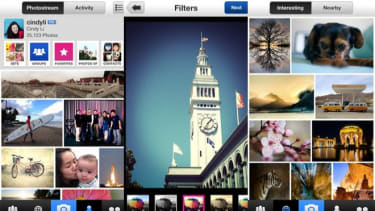 The new Flickr photo app has hipster-friendly filters and works seamlessly with Twitter.