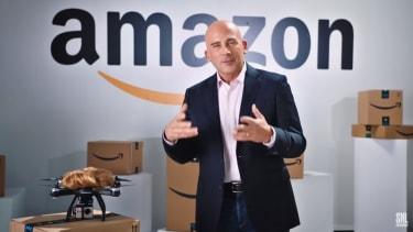 Steve Carrell as SNL's Jeff Bezos taunts Trump over Amazon's new headquarters