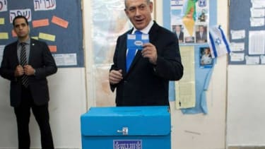 Who could Prime Minister Netanyahu possibly be voting for?