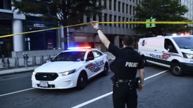 A Washington, D.C., police officer.