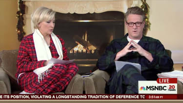 Donald Trump doubles down on nuclear expansion to Morning Joe