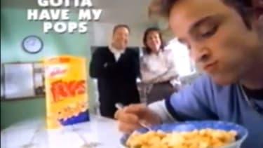 Aaron Paul Corn Pops commercial