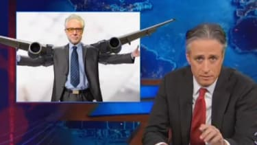 The Daily Show mirthfully mocks CNN, Fox News, and MSNBC for their silly Malaysia Flight 370 coverage
