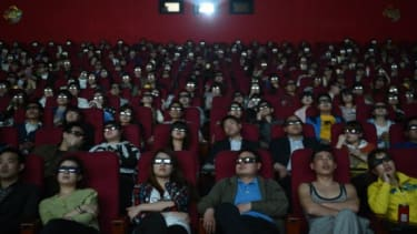 """People watch """"Titanic 3D"""" in China"""