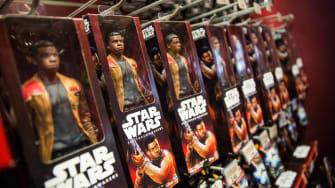The Finn Star Wars toy.
