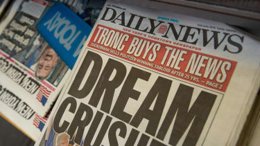 The New York Daily News is bought by Tronc and fires half its employees