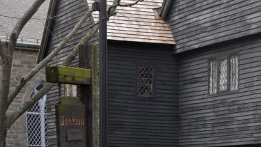 Witch House in Salem, Massachusetts.