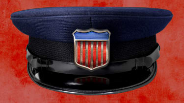 A police hat.