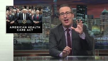 John Oliver pans the American Health Care Act