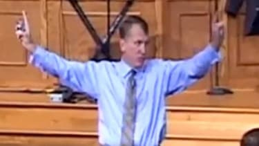 North Carolina pastor Sean Harris