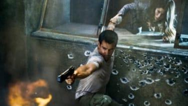 "Colin Farrell in ""Total Recall"""