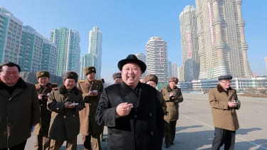 An undated picture released from North Korea's official Korean Central News Agency shows North Korean leader Kim Jong-Un