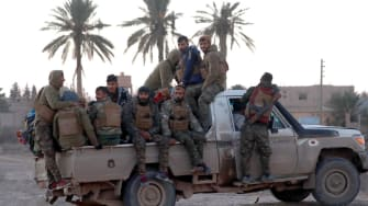 The Kurdish-led Syrian Democratic Forces are fighting ISIS