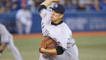 Melky Cabrera welcomed new Yankees pitcher Masahiro Tanaka with a home run