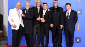 The Bohemian Rhapsody team on their Golden Globes win