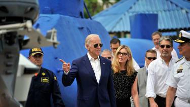 Vice President Joe Biden in Colombia last week.