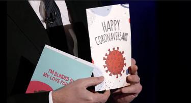 COVID-19 anniversary cards