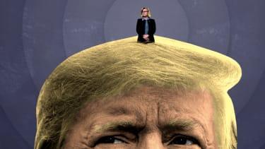 Liz Cheney and Donald Trump.
