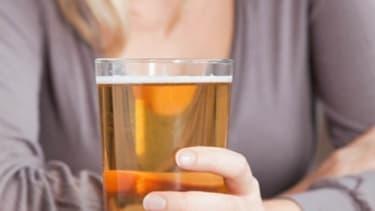 Coors' no-bloat beer