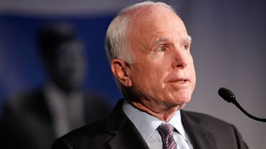 John McCain has tough words for the Trump administration.