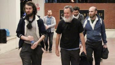 Four French journalists held captive in Syria released