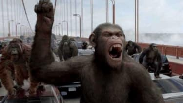 """""""Rise of the Planet of the Apes"""" has garnered early praise, with critics lauding the final primate vs. human battle on the Golden Gate Bridge."""