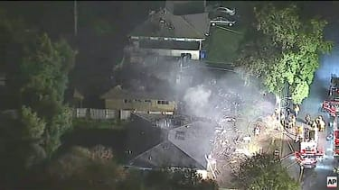 A plane hit two houses in Riverside, California, killing three