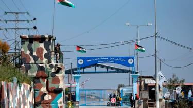A Hamas border crossing from Gaza to Israel.
