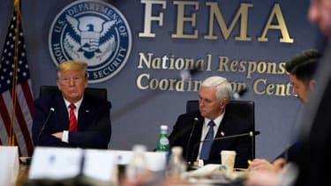 Trump at FEMA