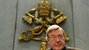 Cardinal Pell at Vatican city