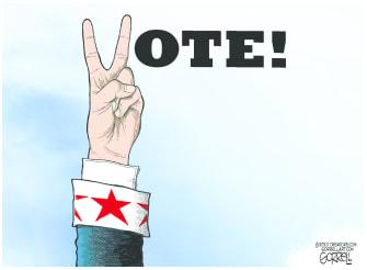 Editorial Cartoon U.S. Vote 2020
