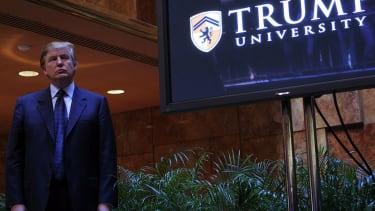 Trump University.