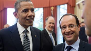 President Obama and France's President Francois Hollande