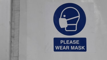 A mask sign