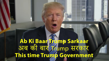 A new pro-Donald Trump ad targeting the Indian American community.