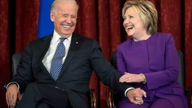 Hillary Clinton and Joe Biden, not 2020 frontrunners