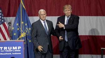 Not Donald. Pence.