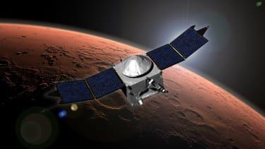 NASA's MAVEN successfully enters Martian orbit